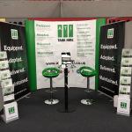 ATI Tank Hire exhibition stand